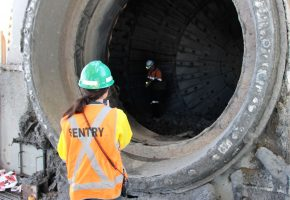 Confined Space Sentry monitoring workers