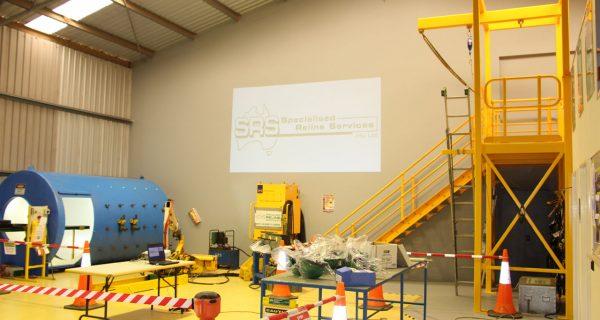 Reliner training area